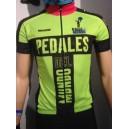 Mallot verde Team Pedales del Mundo